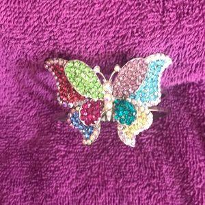 Butterfly bracelet.